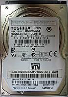HDD 320GB 5400 SATA2 2.5 Toshiba MK3265GSX неисправный 51PGD01QBQD9