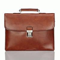 Портфель Katana k63041-3 кожаный Коричневый