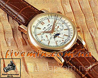 Мужские наручные часы Patek Philippe Grand Complications Perpetual Calendar Chronograph Gold White