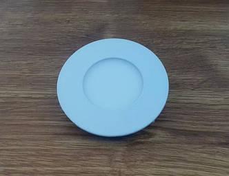 Светильник врезной LED  Downlight  3W 4200K  диаметр  85*19 мм  круглый  алюминиевый корпус