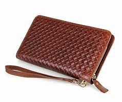 Мужской кошелек портмоне клатч S.J.D. 8068C, коричневый
