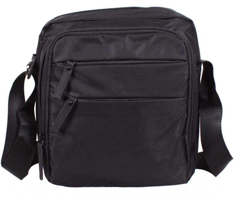 Стильная мужская сумка через плечо MP6339-33BL черный