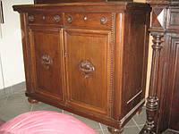 Старинная кухонная тумба деревянная