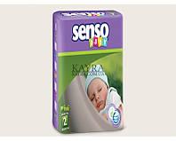 Подгузники Senso Baby Mini 2 (3-6 кг), 76шт