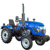 Трактор T240 РК(24 л.с., 3 цилиндра, KM385, КПП (3+1)х2, регулируемая колея)