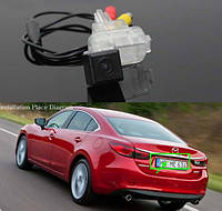 Камера заднего вида Mazda М6 / M3 / AXELA Hatchback / ATENZA (2014...)