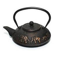 """Чугунный чайник """"Династия""""  1100 мл"""