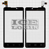 Сенсорный экран для мобильных телефонов Coolpad 7290; Prestigio MultiPhone 4505 Duo, черный