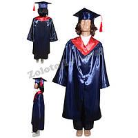 Детская мантия выпускника рост 134