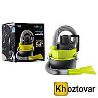 Автомобильный пылесос Black Wet & Dry Auto Vacuum Cleaner | Автопылесос