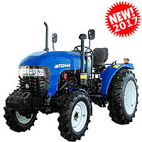 Трактор JINMA JMT3244H  (3 цил., ГУР, КПП(16+4), 2ух дисковое сцепление, сиденье на пружине) NEW