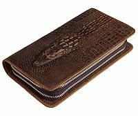 Солидный клатч для мужчин S.J.D. 8070R-1, коричневый