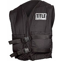 Жилет-утяжелитель TITLE Boxing 40 LBS Power Weighted Vest 18 кг