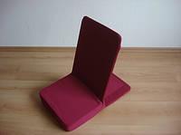 Туристический стул (кресло) для отдыха на природе, дома Рит-рит Rit-Rit бордовый