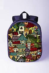 Рюкзак для малышей домики
