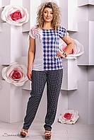 Летние женские брюки батал 2270 Seventeen 48-58 размеры