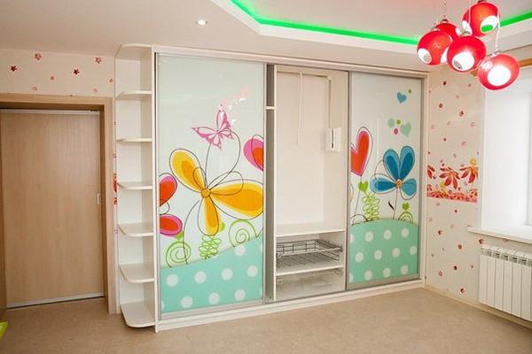 шкафы-купе фото детские
