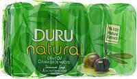 Косметическое мыло Duru Natural Olive Oil Оливковое масло 5х70г