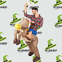 Надувной костюм Всадник на лошади