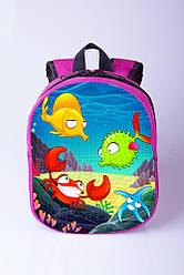 Рюкзак для ребенка с рыбками
