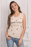 Стильная женская футболка p.44 S1137