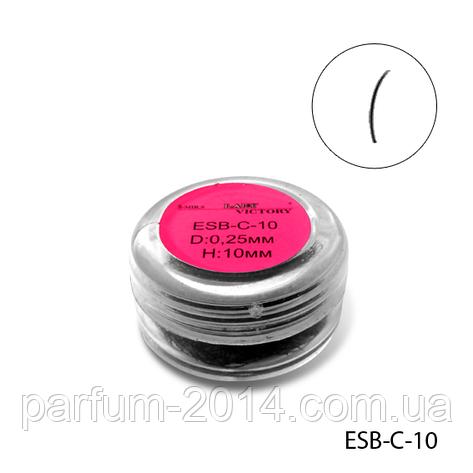 Ресницы в банках ESB-C-10 (диаметр: 0,25 мм, длина: 10 мм), , фото 2