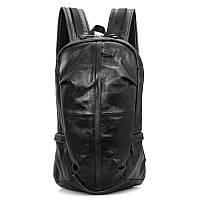 Молодежный удобный рюкзак на каждый день S.J.D. 7340A  Черный
