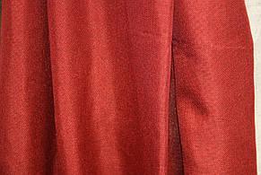 Лляні штори червоні, фото 2