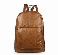 Недорогой молодежный рюкзак на каждый день  7292B  Коричневый
