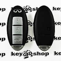 Оригинальный ключ Infiniti Q50 (Инфинити) 3 кнопки, чип 4 A (Hitag AES), PCF 7953, c частотой 433 MHz
