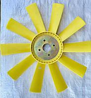 Крыльчатка вентилятора МАЗ-500/ 10 лопастей