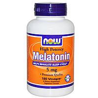 NOW Foods Melatonin 5mg 180 caps