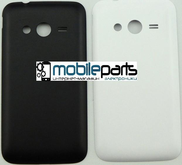 Задняя панель корпуса (крышка) для Samsung Galaxy Ace 4 G313 (Качество ААА) (Черная)