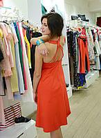 Женское платье летнее  красное  брендовое Италия