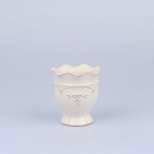 Ваза Прованс белая маленькая LI333-H12В