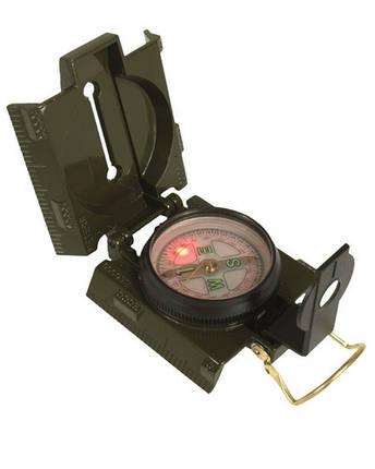 Компас металлический с подсветкой, фото 2