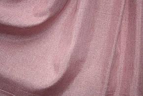 Шторы льняные розового цвета, фото 2