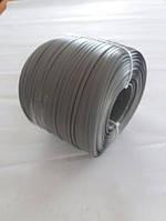 Плетеный искусственный ротанг для мебели серый>7мм*1,3мм >8мм*1,4мм