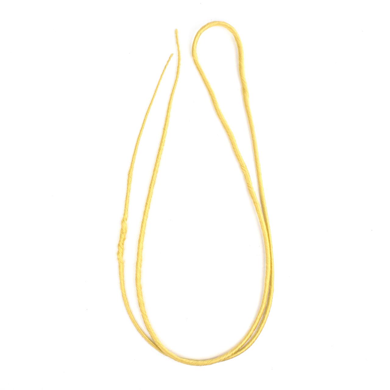 Дред двойной желтый 60 см