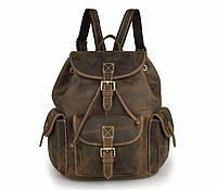 Универсальный рюкзак из воловьей кожи S.J.D. 7252R  Коричневый