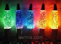 Лава лампа, парафиновая лампа, оригинальный ночник (Magma Lamp, Lava lamp), высота – 34,5 см