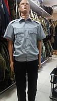 Рубашка форменная для сотрудников полиции (серая)