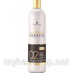 Мгновенное кератиновое лечение SCHWARZKOPF Supreme Keratin Treatment 02 480 мл