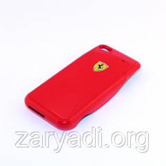 Резервный аккумулятор для Apple iPhone 4/4S (1800 mAh), Ferrari, Красный /АКБ/Батарея/Батарейка /айфон
