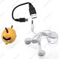MP3 плеер ANGRY BIRDS с поддержкой карт памяти до 8 гб