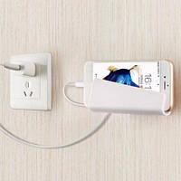 Настенный держатель (крепление) для мобильных телефонов и планшетов, (129*69mm) Белый