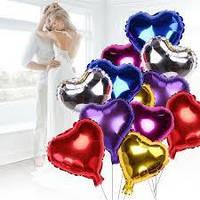 Надувной Воздушный шарик  из фольги, разные виды