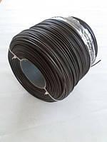 Техноротанг для плетения круг 3мм, 4мм, 5мм ТЕМНО-КОРИЧНЕВЫЙ