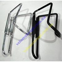 Крепление для фляги алюминиевый. цвет: черный, серебро