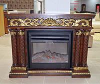 Декоративный камин VA263SS, орех